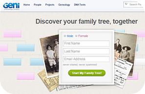 geni family tree website