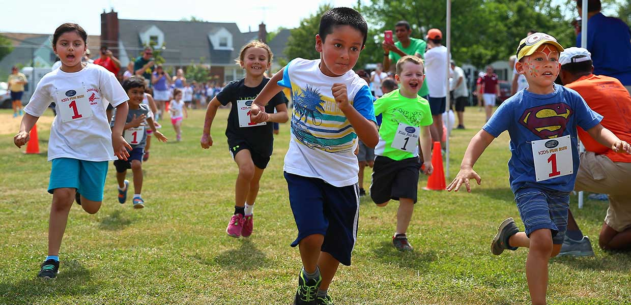Image of Youth Participating in the Children's Fun Run During Katie's Run 2016