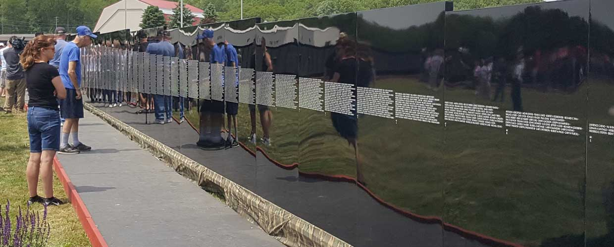 Vietnam Memorial Moving Wall