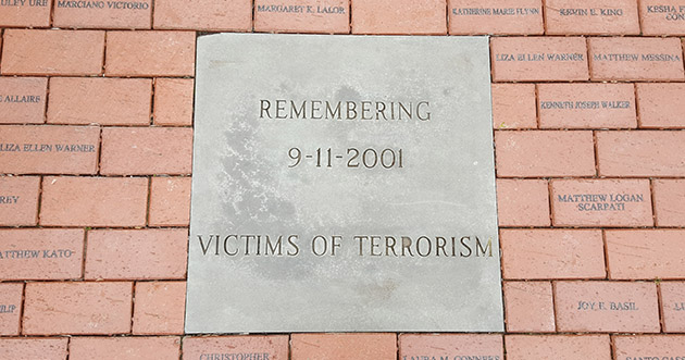 Sept. 11 Memorial at NYS Crime Victims Memorial in Albany