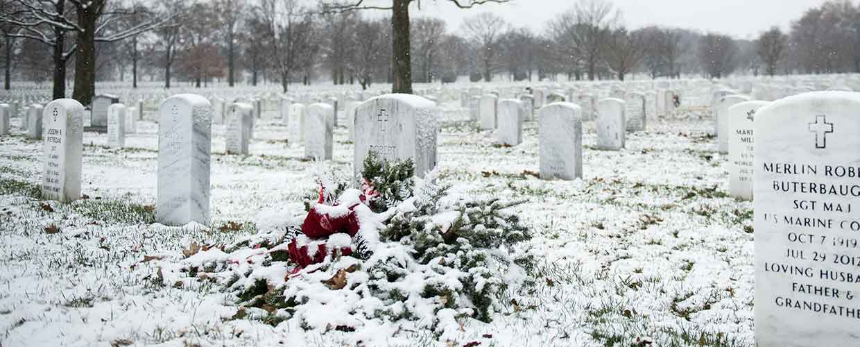 View of Arlington National Cemetery, photo by Elizabeth Fraser