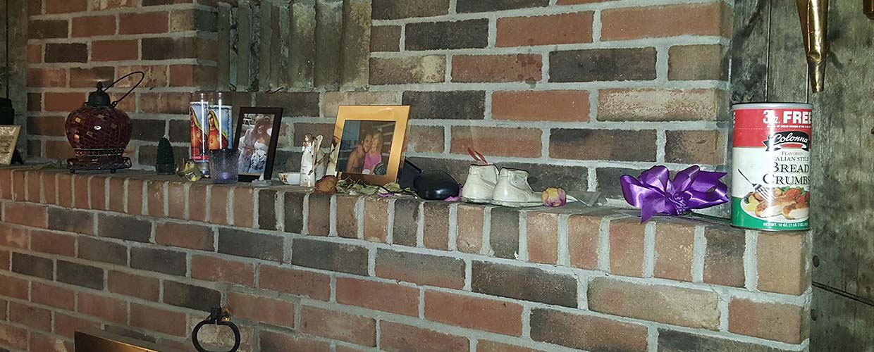 "View of Mantel at Ed""s Place"