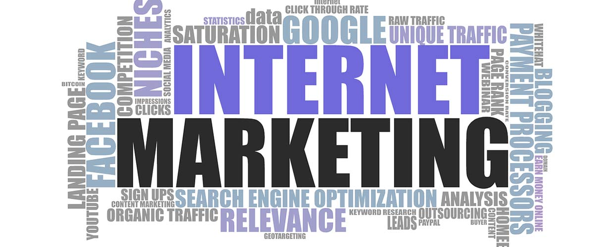 Word cloud on marketing