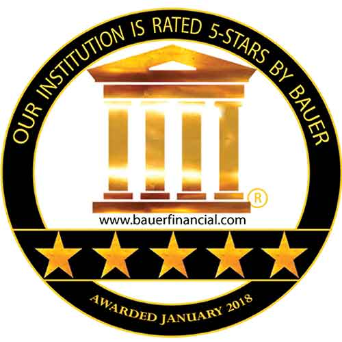 DCCU - Rated 5 Stars by Bauer Financial