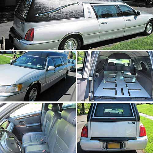 2001 Lincoln Hearse For Sale